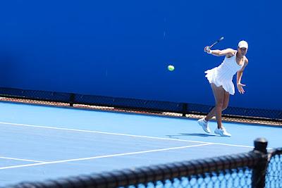 Black Tennis Pro's Alexandra Stevenson 2010 Australian Open Qualifying