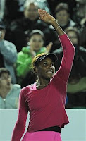 Black Tennis Pro's Venus Williams 2010 Hong Kong Exhibition Match