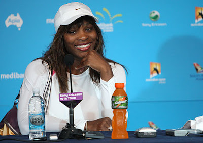 Black Tennis Pro's Serena Williams Sydney Press Conference