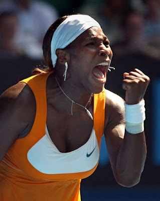 Black Tennis Pro's Serena Williams vs. Li Na 2010 Australian Open