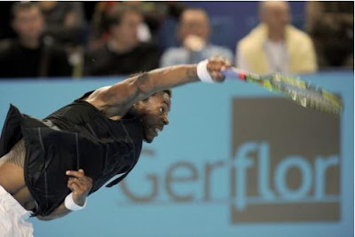 Black Tennis Pro's Jo-Wilfried Tsonga Marseille Open 13