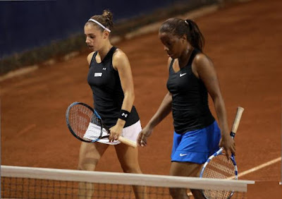 Black Tennis Pro's Mashona Washington and Sharon Fichman Doubles at Abierto Mexicano TELCEL