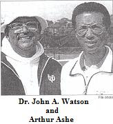 Black Tennis Pro's Dr. John A. Watson, Childhood Arthur Ashe Tennis Coach Life Celebrated With Virginia Senate Resolution