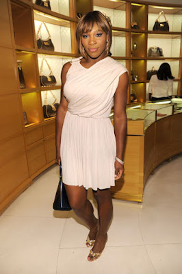 Black Tennis Pro's Serena Williams Glamour Party hosted by Louis Vuitton Beverly Hills
