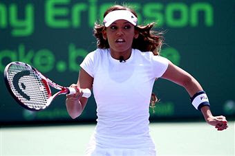 Black Tennis Pro's Sony Ericsson Open Glam.Set.Match - Mel B