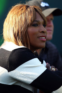 Black Tennis Pro's Serena Williams at 2010 Sony Ericsson Open