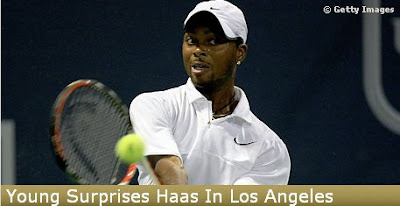 Black Tennis Pro's Donald Young