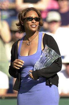 Black Tennis Pro's Zina Garrison