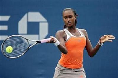 Black Tennis Pro's Asia Muhammad