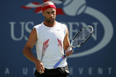 Black Tennis Pro's U.S. Open James Blake