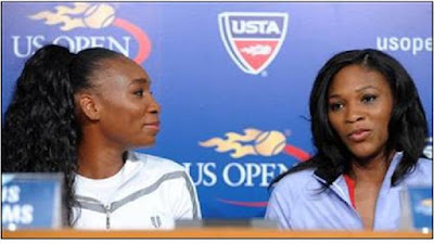Black Tennis Pro's Venus and Serena Williams U.S. Open 2008