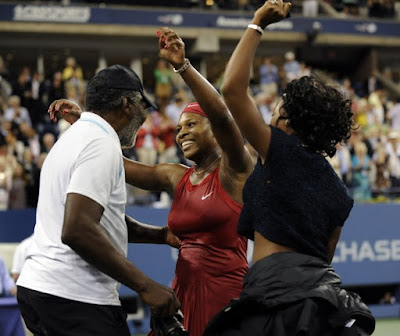 Black Tennis Pro's U.S. Open Women's Final