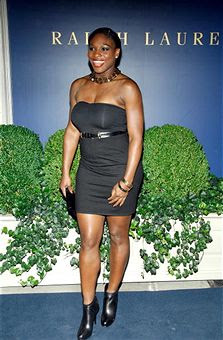 Black Tennis Pro's Serena Williams at Labron James Family Foundation Cocktail Party