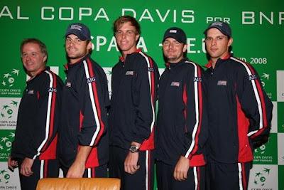 Black Tennis Pro's 2008 Davis Cup Semifinal Team