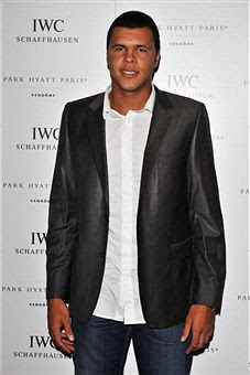 Black Tennis Pro's Jo-Wilfried Tsonga IWC Schaffhausen Party