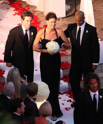 Black Tennis Pro's James and Thomas Blake at Mardy Fish Wedding