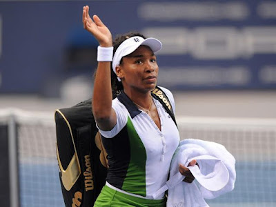 Black Tennis Pro's Venus Williams Porsche Tennis Grand Prix