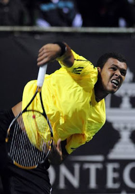 Black Tennis Pro's Jo-Wilfried Tsonga South African Open Quarterfinal