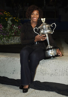 Black Tennis Pro's Serena Williams