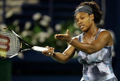 Black Tennis Pro's Serena Williams Barclays Dubai Tennis Championships