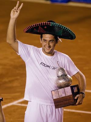 Black Tennis Pro's Gael Monfils Abierto Mexicano Telcel Final