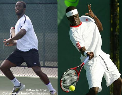 Black Tennis Pro's Paul Todd and Jarmere Jenkins Harlingen Country Club