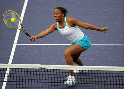 Black Tennis Pros Mashona Washinton BNP Paribas Open Doubles