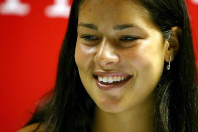 Black Tennis Pro's Ana Ivanovic Sony Ericsson Open