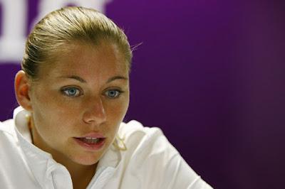 Black Tennis Pro's Vera Zvonareva Sony Ericsson Open