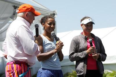 Black Tennis Pro's Raquel Kops-Jones Sony Ericsson Open