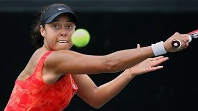 Black Tennis Pro's Alexandra Stevenson Family Circle Cup