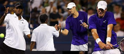 Black Tennis Pro's Donald Young and John Isner Tallahassee Tennis Challenger