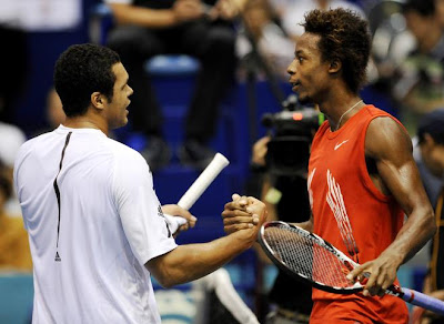 Black Tennis Pro's Jo-Wilfried Tsonga and Gael Monfils World Rankings