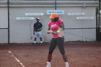 Black Tennis Pro's Serena Williams Nick Bollettieri Tennis Academy