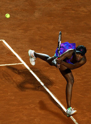 Black Tennis Pro's Venus Williams Internazional BNL D'Italia