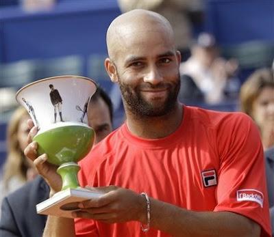 Black Tennis Pro's James Blake Estoril Open Final