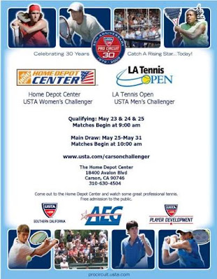 Black Tennis Pro's 2009 USTA Home Depot And LA Tennis Open Challengers