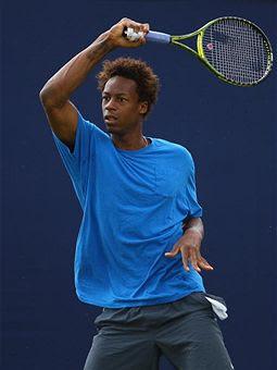 Black Tennis Pro's Gael Monfils Aegon Championships London, England