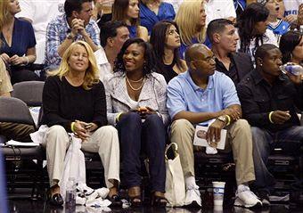 Black Tennis Pro's Serena Williams 2009 NBA Final Lakers and Orlando Magic