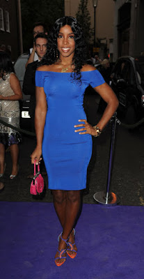 Black Tennis Pro's Kelly Rowland Attends 2009 WTA Tour Pre-Wimbledon Party