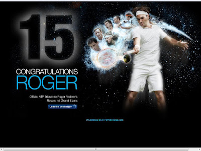 Black Tennis Pro's Roger Federer ATP World Tour Tribute Page