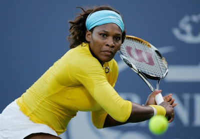 Black Tennis Pro's Serena Williams Bank Of The West Classic Round 1