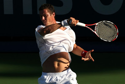 Black Tennis Pro's Marat Safin L.A. Tennis Open