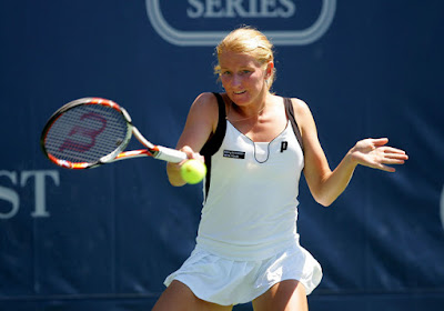 Black Tennis Pro's Melinda Czink Bank Of The West Classic Round of 16