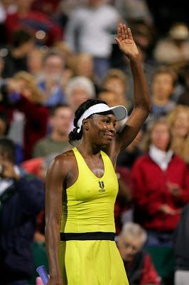 Black Tennis Pro's Venus Williams 2009 Bank of the West Classic Quarterfinals