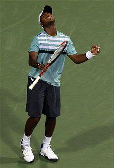 Black Tennis Pro's Donald Young 2009 Legg Mason Classic Round 1