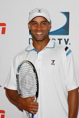 Black Tennis Pro's James Blake DirecTV ESPN U.S. Open Experience