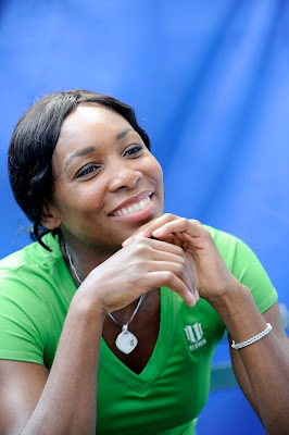 Black Tennis Pro's Venus Williams DirecTV ESPN U.S. Open Experience
