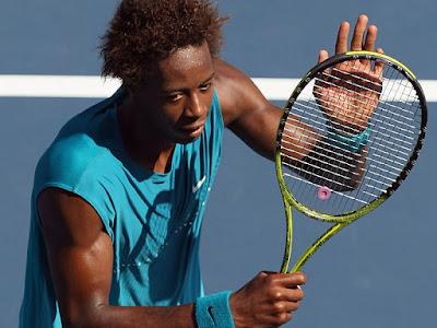 Black Tennis Pro's Gael Monfils Open de Moselle Quarterfinal