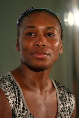 Black Tennis Pro's Venus Williams Pan Pacific Open Press Conference